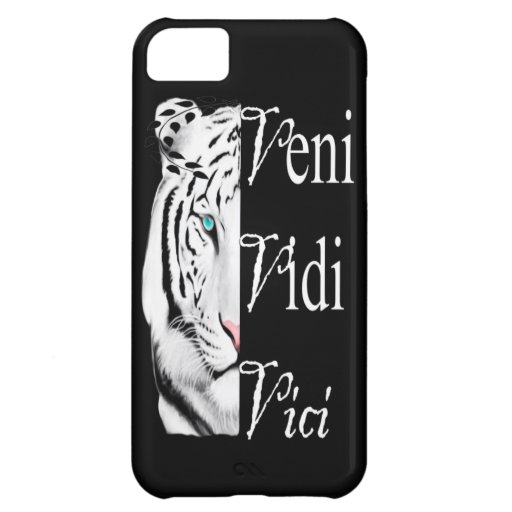 iPhone 5C, Barely There-veni vidi vici Cover For iPhone 5C