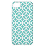 iPhone 5C Case \ Turquoise Geometric