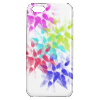 Iphone 5c case with abstract desgin
