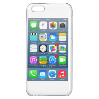 iPhone 5C glossary case - Home page in Arabic iPhone 5C Cover