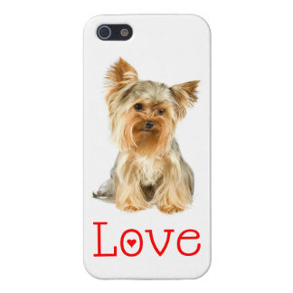 iPhone 5C Love Yorkshire Terrier Puppy Dog Case iPhone 5/5S Cases