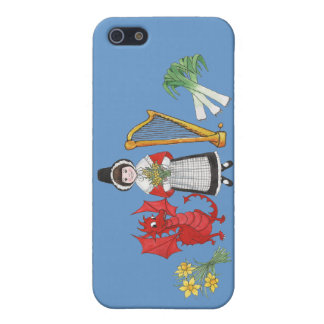 iPhone 5c Savvy Case, Welsh Emblems Cover For iPhone 5/5S