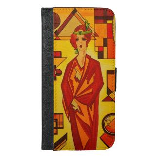 Iphone 6/6 plus flip case/wallet Art Deco Vogue