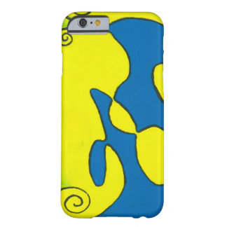 iPhone 6/6s, Barely There Case - Blue Escargot