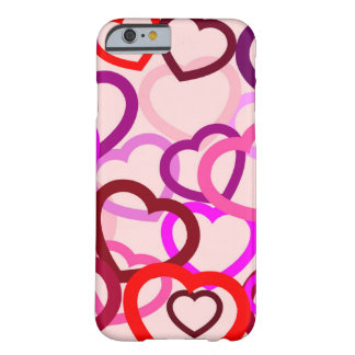 iPhone 6/6s, Barely There, entangled hearts Barely There iPhone 6 Case