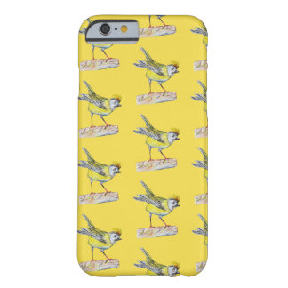 iPhone 6/6s, Barely There Yellow Bird Drawing Barely There iPhone 6 Case