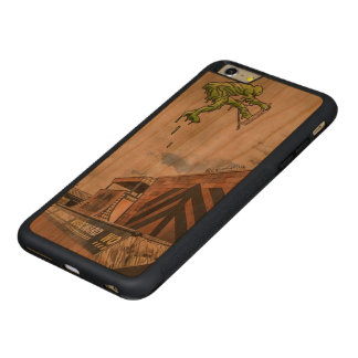iPhone 6/6s Bumper Cherry Wood Case