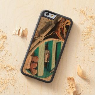 iPhone 6/6s Bumper Cherry Wood Case