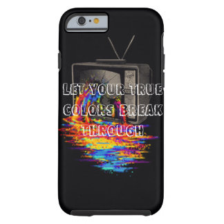 iPhone 6/6s Case - Bleeding Rainbow Television