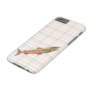 iPhone 6/6S Case - Chinook Salmon on Plaid