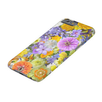 iPhone 6/6S Case - Flowers and Butterflies