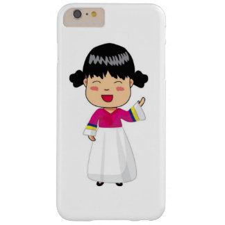 iPhone 6/6S case of Korean Chibi in Hanbok
