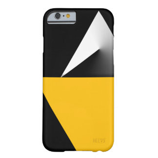 """iPhone 6/6S Case """"Shapes Pattern"""" Black Heevs™"""