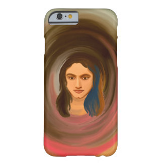 iPhone 6/6s Case with Portrait of a Girl