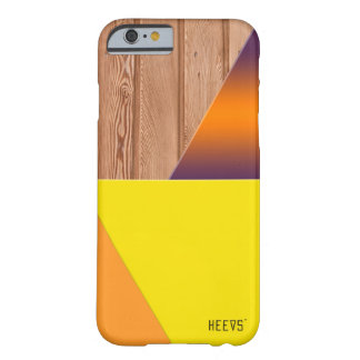 "iPhone 6/6S Case ""Wood and Shapes"" Heevs™"