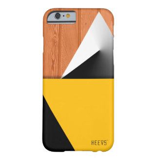 """iPhone 6/6S Case """"Wood and Shapes II"""" Heevs™"""