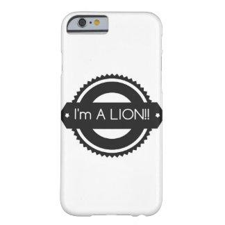 """iPhone 6/6s """"I'm A LION!!"""" Case"""