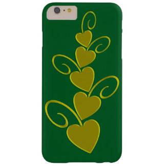 iphone 6/6s plus case green gold