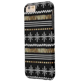 iPhone 6/6s Plus-Christmas-Snowflake Tough iPhone 6 Plus Case