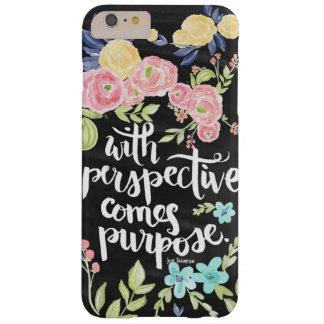 iPhone 6/6s Plus Floral Quote Phone Case