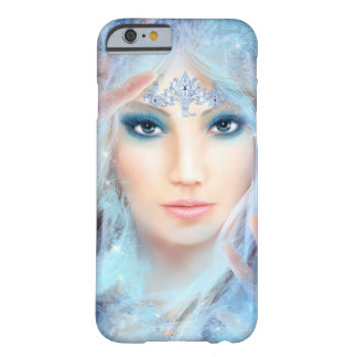 iPhone 6/6s,  Snow queen. Winter beautiful woman. Barely There iPhone 6 Case