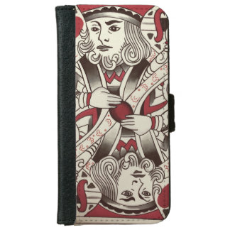 iPhone 6/6s  Suicide King  Wallet Case