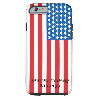 iPhone 6/6s tough case (white with flag)