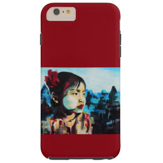 iPhone 6/6s tough plus with the painting 'Flower' Tough iPhone 6 Plus Case