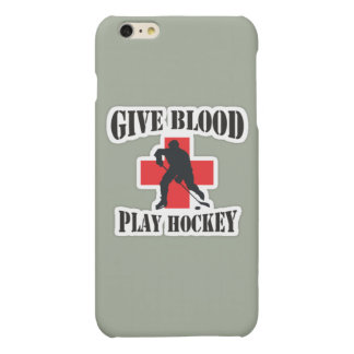 IPhone 6 and 6S Plus Give Blood Play Hockey Case