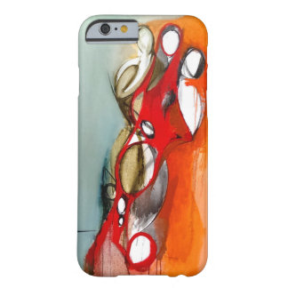 "iPhone 6 Case-""3 Figures Off-Center"" Barely There iPhone 6 Case"