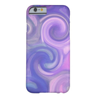 iPhone 6 case - abstract purple swirls Barely There iPhone 6 Case