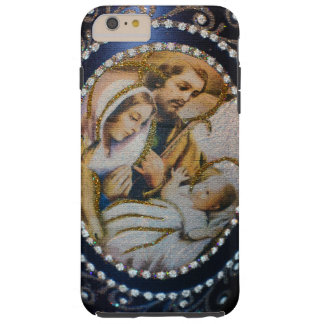Iphone 6 case/Baby Jesus Mosiac Tile Style Tough iPhone 6 Plus Case