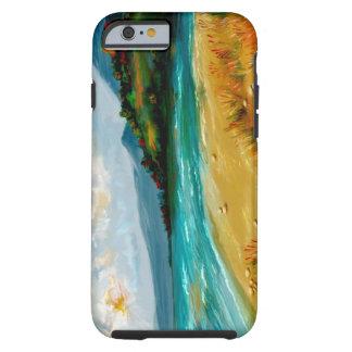 iPhone 6 case Beach Scene Tough iPhone 6 Case