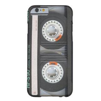 iPhone 6 case Black Retro Cassette Case Old School