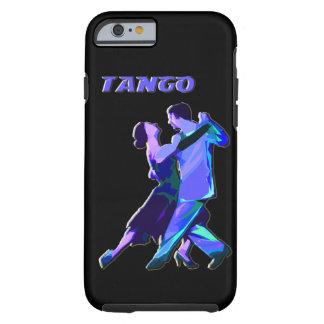 iPhone 6 case blue tango couple Tough iPhone 6 Case