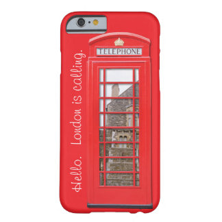iPhone 6 Case British Red Phone Box London