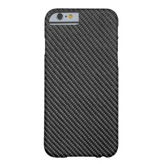 iPhone 6 case - Carbon Fiber - Metallic Black Barely There iPhone 6 Case