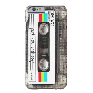 "iPhone 6 case ""Cassette"""