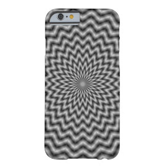 iPhone 6 Case  Circular Wave in Monochrome Barely There iPhone 6 Case