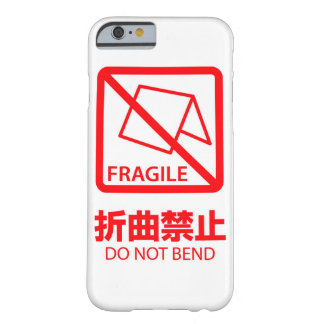 iPhone 6 Case: Do Not Bend! Barely There iPhone 6 Case