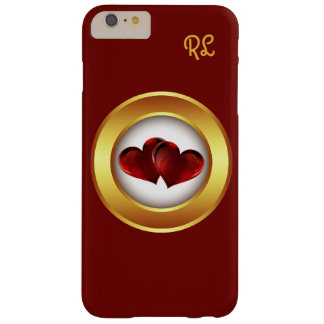 iphone 6 Case Love Hearts Personalized Cherry Red