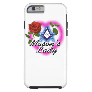 iPhone 6 Case 'Mason's Lady'
