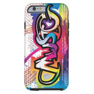 iPhone 6 case Music Graffiti Case Tough iPhone 6 Case