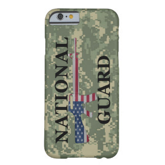 iPhone 6 case National Guard Green Camo Barely There iPhone 6 Case