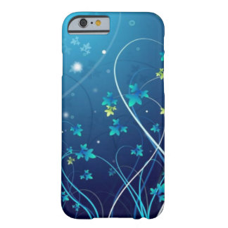 iPhone 6 case Ocean Blue Flowers case