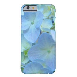 iPhone 6 case Pastel Blue Hydrangea Flowers Barely There iPhone 6 Case