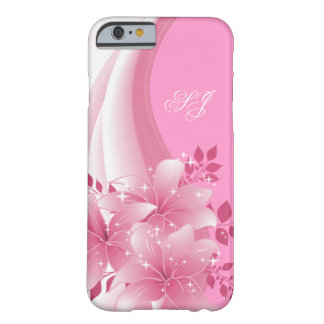 iPhone 6 case Pretty Pink Floral