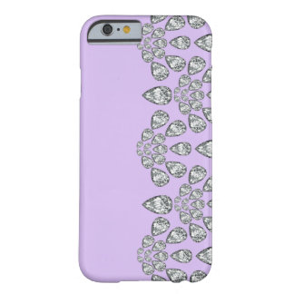 iPhone 6 case Purple Diamond Barely There iPhone 6 Case