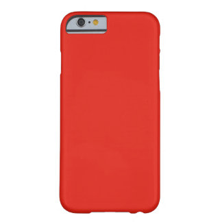 iPhone 6 case Red Barely There iPhone 6 Case