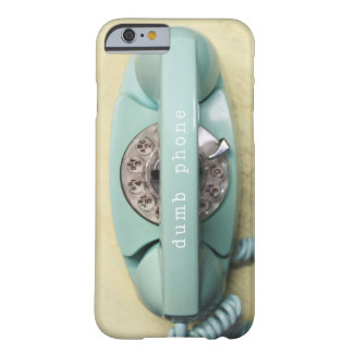 iPhone 6 case-  retro aqua princess phone Barely There iPhone 6 Case